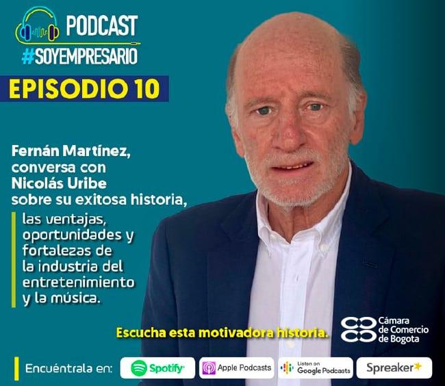 Podcast Soy Empresario de la Cámara de Comercio de Bogotá
