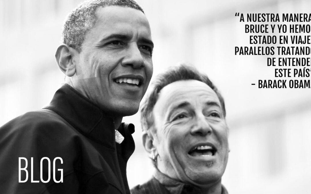 Obama estrena podcast con Springsteen y más noticias de Spotify Podcast