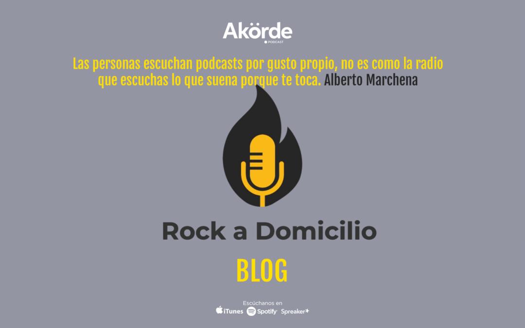 """""""La gente escucha podcast por decisión propia no por imposición"""": Alberto Marchena"""