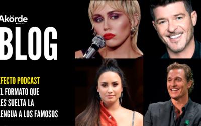 Efecto podcast: el formato más personal y que les suelta la lengua a los famosos