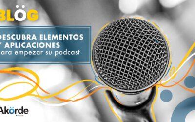 ¿Cómo hacer un podcast? Elementos y aplicaciones que le pueden ayudar