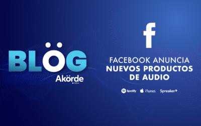 Facebook lanza productos especiales para creadores de podcast y contenidos de audio