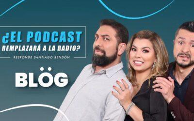 ¿El podcast remplazará a la radio?: Santiago Rendón, de 'Sospechosamente light', da su versión