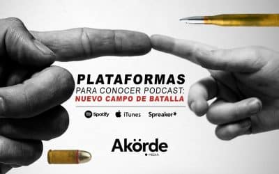 Plataformas para descubrir podcast, protagonistas de una competencia imparable