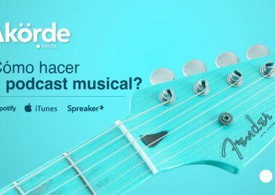 ¿Cómo hacer un podcast musical? Tres expertos dan sus recomendaciones