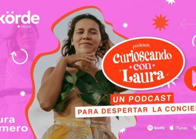 Curioseando con Laura, un podcast para despertar la conciencia