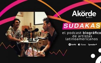 Sudakas, el podcast biográfico de artistas latinoamericanos emergentes