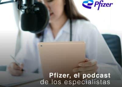 Pfizer, el podcast de los especialistas