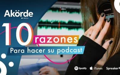 10 razones para crear su propio podcast