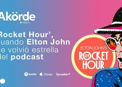 Elton John, 'Rocket Hour' y más de 300 episodios de música y entrevistas