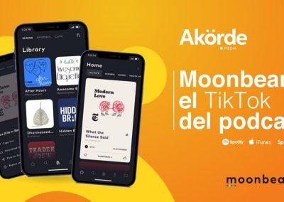 Moonbeam.fm, la aplicación que quiere ser el TikTok de los podcasts
