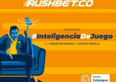 Rushbet, pionero en podcast de apuestas deportivas