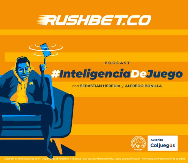 Rushbet, primer podcast de apuestas deportivas